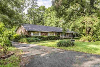 Gainesville Single Family Home For Sale: 2227 SW 43rd Place
