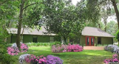 Micanopy Single Family Home For Sale: 9500 NW 193RD Street