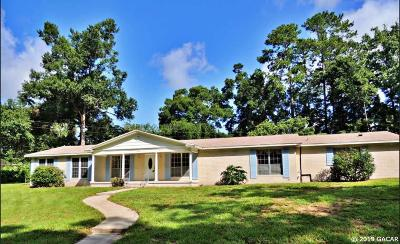 Gainesville FL Single Family Home For Sale: $367,500