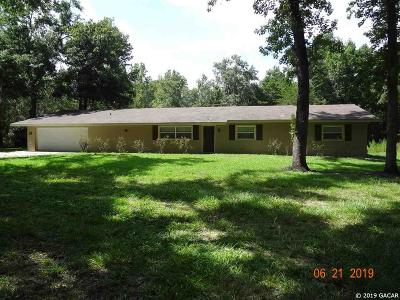 Alachua Single Family Home For Sale: 26909 NW County Road 239