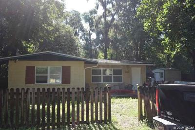 Gainesville FL Single Family Home For Sale: $99,000