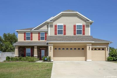 Newberry Single Family Home For Sale: 863 NW 229th Drive