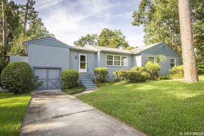 Gainesville FL Single Family Home For Sale: $249,000