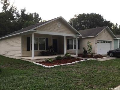 Alachua Single Family Home For Sale: 12124 NW 162nd Drive