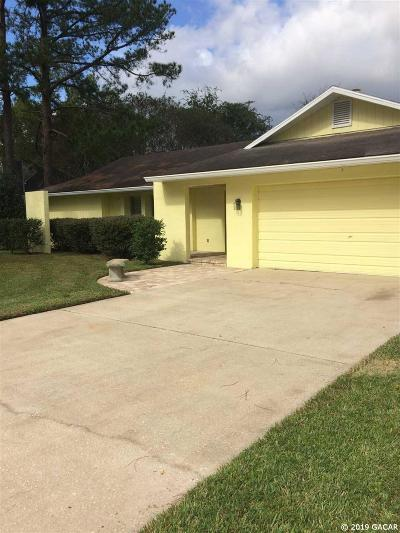 Alachua Single Family Home For Sale: 6102 NW 116th Place