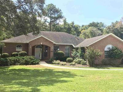 Alachua Single Family Home For Sale: 6225 NW 105 Avenue
