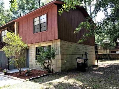 Gainesville Condo/Townhouse For Sale: 4316 SW 68th Terrace