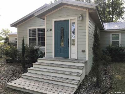 Single Family Home Sold: 4531 NE 155th Avenue