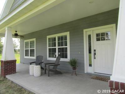 Newberry Single Family Home Pending: 5864 NW State Road 45