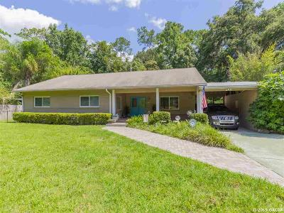 Gainesville Single Family Home For Sale: 462 NW 36TH Avenue