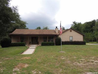 Newberry Single Family Home Pending: 3621 NW 170th Street