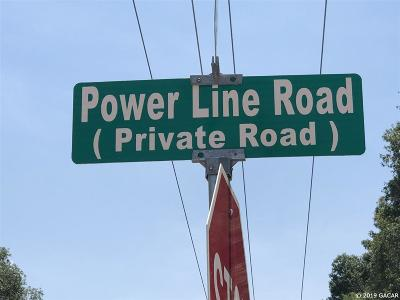 Melrose Residential Lots & Land For Sale: Power Line Road
