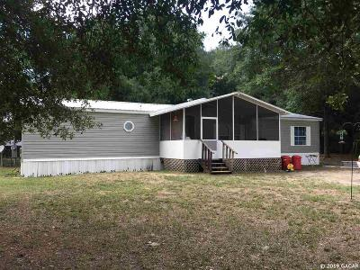 Williston Single Family Home Pending: 15631 NE 45th Street