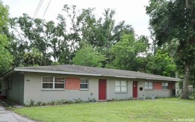 Gainesville Multi Family Home For Sale: 815-821 NW 16th Avenue