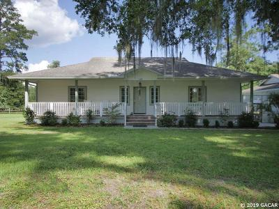 Micanopy Single Family Home For Sale: 22815 Highway 329