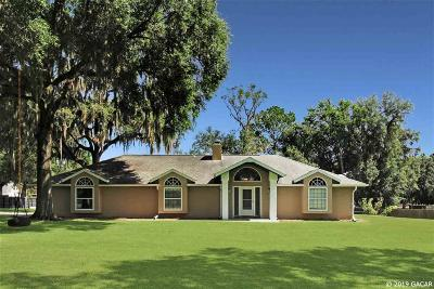 Reddick Single Family Home For Sale: 12145 NW 160 Street