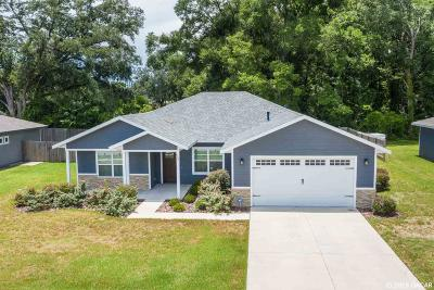 Newberry Single Family Home For Sale: 932 NW 233rd Drive