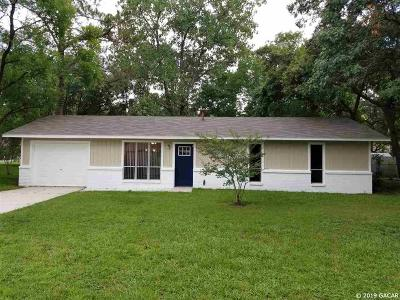 Gainesville Single Family Home For Sale: 2840 NW 67th Place