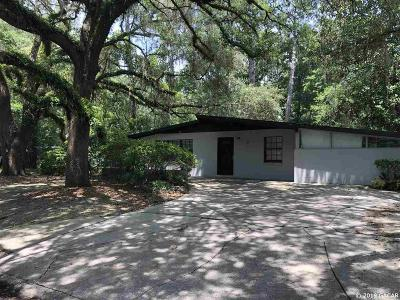 Gainesville Single Family Home For Sale: 641 NW 36TH Drive