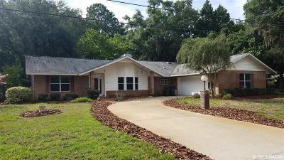 High Springs Single Family Home For Sale: 19049 NW 233rd Street