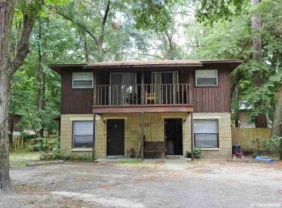 Gainesville Multi Family Home Pending: 1721 SW 69th Way #A &