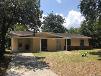 Gainesville Single Family Home For Sale: 1016 SE 19TH Terrace