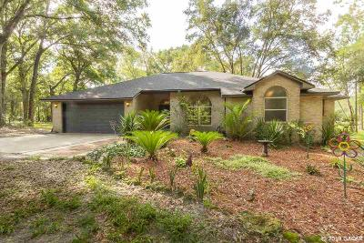 High Springs Single Family Home For Sale: 25410 NW 62 Avenue