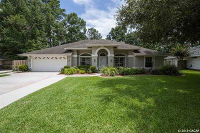 Gainesville Single Family Home For Sale: 10407 NW 13th Lane
