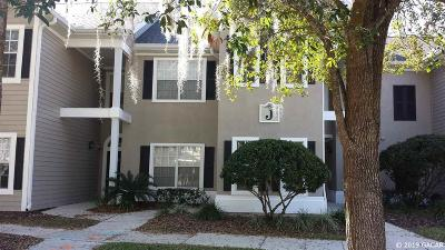 Gainesville Condo/Townhouse For Sale: 10000 SW 52ND Avenue #J-52