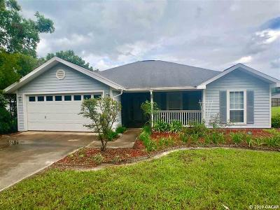 High Springs Single Family Home For Sale: 19179 NW 230th Street
