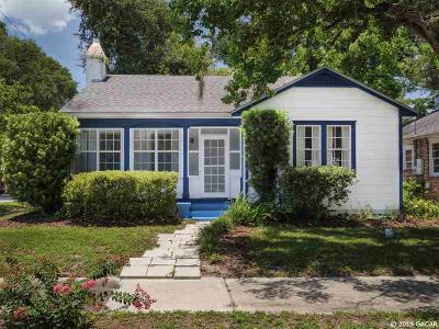 Gainesville Single Family Home For Sale: 1106 NE 5th Street