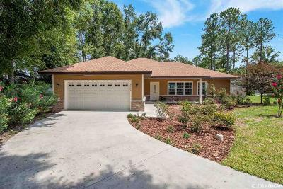 High Springs Single Family Home For Sale: 22744 NW 191st Lane