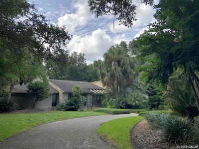 Gainesville Single Family Home For Sale: 2640 NW 27th Terrace