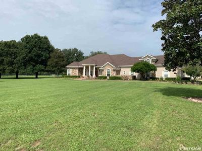 Alachua Single Family Home For Sale: 16566 NW 129th Terrace