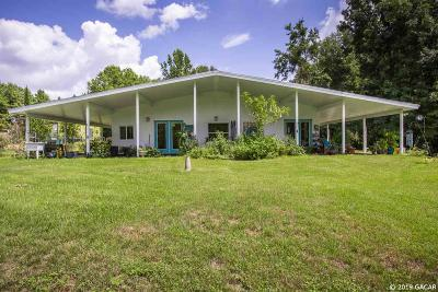 Alachua Single Family Home For Sale: 29311 NW County Road 241