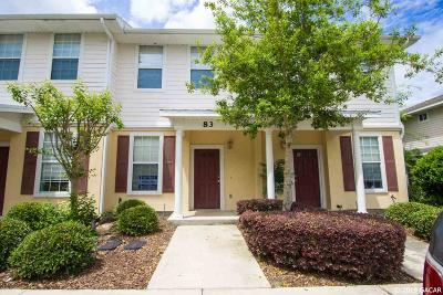 Gainesville Condo/Townhouse For Sale: 2508 SW 35TH Place #83
