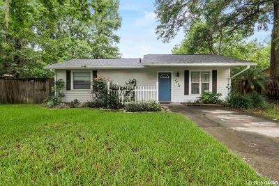 Gainesville Single Family Home Pending: 3710 NW 22ND Terrace