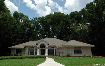 Gainesville Single Family Home For Sale: 8014 SW 16TH PL