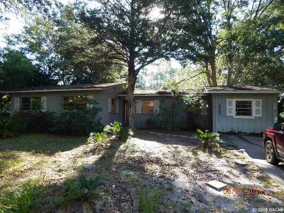 Gainesville Single Family Home Pending: 3503 NE 11TH Terrace