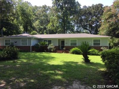 Gainesville Single Family Home For Sale: 9735 NW 27 Place