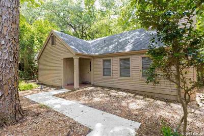 Gainesville Single Family Home For Sale: 5211 SW 86TH Terrace