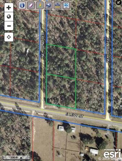 Williston Residential Lots & Land For Sale: TBD NE 132nd Terrace