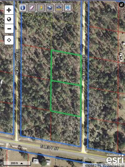 Williston Residential Lots & Land For Sale: TBD NE 133rd Terrace