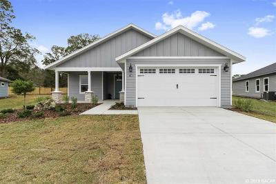 Gainesville Single Family Home For Sale: 1756 SW 72nd Circle