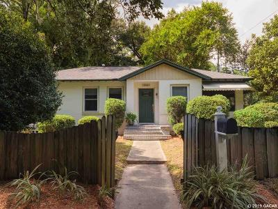 Gainesville Single Family Home For Sale: 804 NW 9TH Avenue