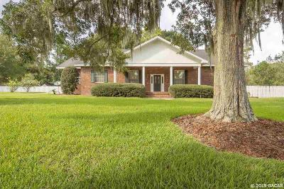 Gainesville FL Single Family Home For Sale: $319,000
