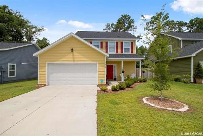 Gainesville FL Single Family Home For Sale: $210,000