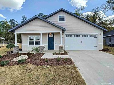 Gainesville Single Family Home For Sale: 1733 SW 72 Circle