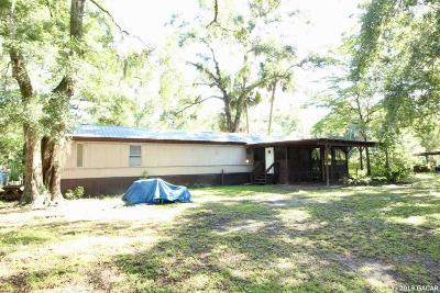 Chiefland Single Family Home For Sale: 7351 NW 25th Street