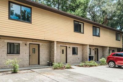 Gainesville Condo/Townhouse For Sale: 4719 SW 69 Terrace